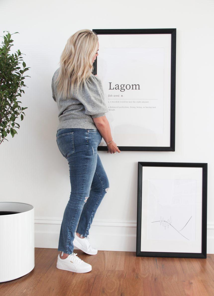 How to hang and display art